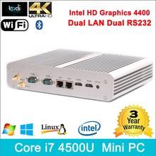 desktop pc with i7 cpu Core intel 4790k CPU Haswell Core 4K HD Dual display intel case pc gamer usb 3.0 WIFI Bluetooth