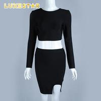 Casual joint dress,high fit dress,black midi dress