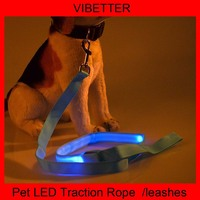 PLTR-01 Dog accessories, wholesale nylon dog leash, led dog leashes made in china