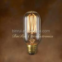 Discount 20% Vintage style 40w 220v T45 Decorative Filament Edison Light Bulb