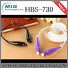 Made in china Hot Selling HBS 730 wireless cell phone headset for iphone for samsung