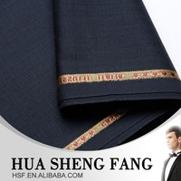 China Herringbone Wool 100% Wool Mens Suiting Fabric
