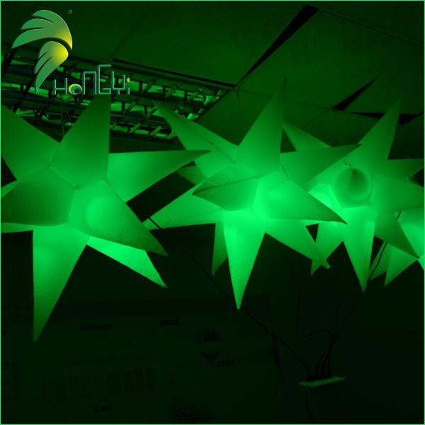 led lighting star shaped balloon (2)