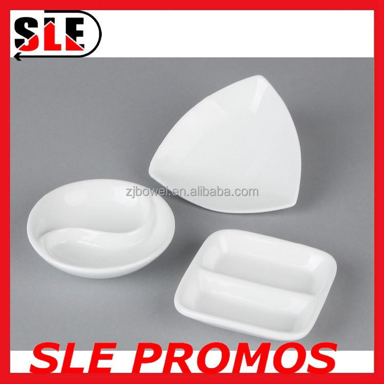 Exquisitive Bulk Cheap Appetizer Ceramic Plate Wholesale White Saucer Porcela