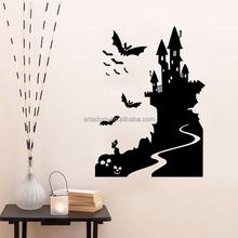 Halloween Black Vinyl Home Decal Kids Room Decor Art Mural Devil Sticker