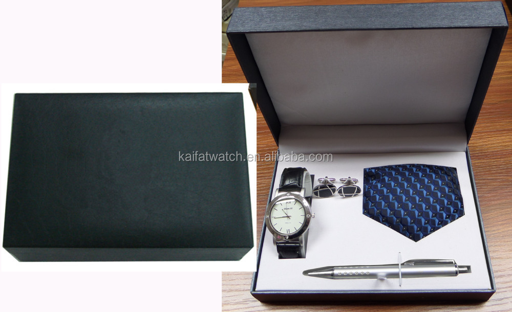Wholesale Men Luxury Watch Gift Set With Cufflinks,Tie And ...