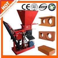 clay interlocking block making machine Eco Brava clay hollow block machine manual block molding machine