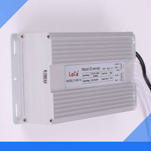 200w single output 24v 12v waterproof Power Source LED electrical equipment