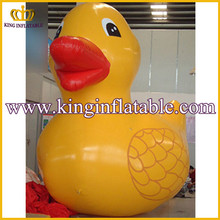 Good Quality Inflatable Promotion Animal, Big Inflatable Yellow Rubber Duck
