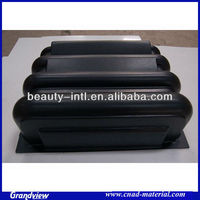 plastic vacuum formed component part for machine