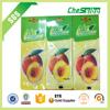 Custom hanging car air freshener paper for car/car air freshener paper wholesale/air freshener paper