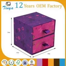 Purple wholesale trinket box from india