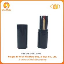 classic black plastic stick form lipstick tube