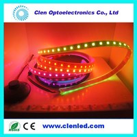 2013 new product ws2812 5050 IP20 non waterprooof dream color led strip for christmas from china supplier