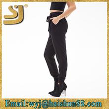 suprior sweat pants fabric ,loose leisure pants ,sexy girls wearing yoga pants