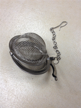 stainless steel wire mesh tea ball strainer for organic green tea