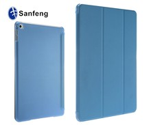 Foldable cell phone case for ipad 6, for ipad air 2 with stand Smooth touching feeling cover