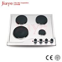 Built in 4 burner electric hob/Electric hotplate cooktop hot sale in CIS market JY-ES4001