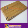 For ipad mini bamboo case, two pieces wooden cover for ipad mini
