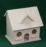 Cheap Wood Christmas Bird House Wholesale