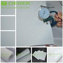 White Polymeric PVC 3D Carbon Fiber Vinyl with Air Free Bubbles