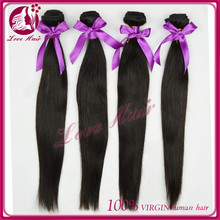 100% unprocessed human hair,can dye and bleach best quality hair beauty care product