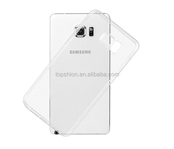 Hot For Samsung Galaxy Note 5 Clear Back Cover Case Ultra Slim TPU Case