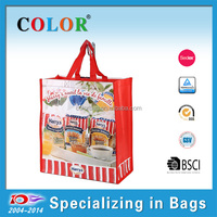 gift bag for sugar packing, Sedex audit tote shopping bag