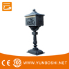 BV Factory Professional Household YBSD Free Standing Cast Aluminum Mailbox