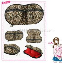 Newest EVA Leopard Travelling Bra Bag (BRAG-001-22) waterproof bra bag