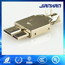 Widely using and charging micro usb3.0 AM connector