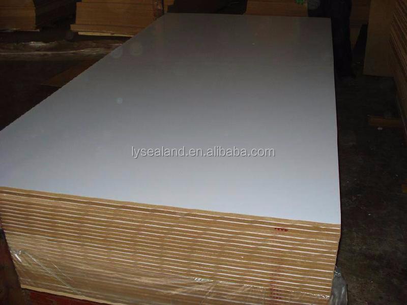 Melamine mdf board sheet size laminated