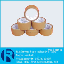 Carton Sealing Use and Single Sided Adhesive Side brown Water activated gummed tape