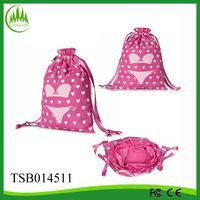 China 2014 high quality design cotton drawstring bag wholesale