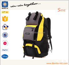2015 China wholesale men new fashion rucksack nylon hiking camping mountaineering travel backpack bag