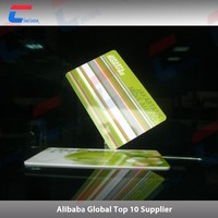 Programmable smart card proximity rfid / nfc card with chip t5577/ ntag203/ ntag 213