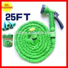 25ft jardín de goma de la manguera de la manguera flexible