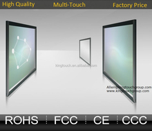 2, 6, 10, 16, 20, 32, 40 and 120 touch points 55 inch infrared Multitouch frame,infrared multitouch panel,ir multitouch screen