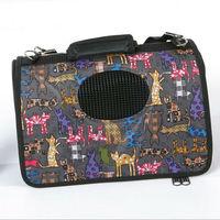 Comfortable mesh dog carrier pet travel bag