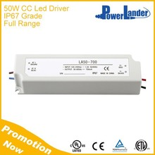 IP67 Waterproof 50W 1400mA Constant Current Led Driver with CE Certificate