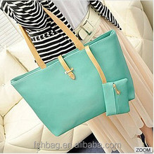Women Fashion Big Shoulder Bags, Solid Totes