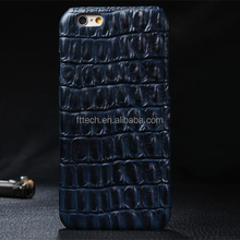 crocodile Pattern Genuine Leather Case for iPhone 6,for iphone 6 cases