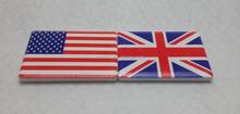 Ceramic National flag Magnet