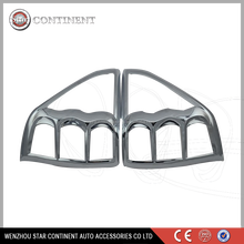 Car exterior accessories ABS chrome body part tail lamp cover for forester