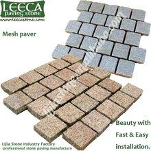 interlocking block outdoor paving block | mesh paving stone
