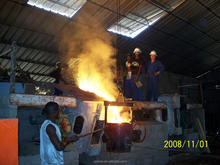 SCR Electric Induction Furnace for Scrap Metal Melting