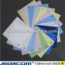 0.5cm grid or strip polyester antistatic ESD fabric