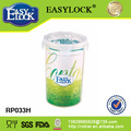 Hay BV de almacenamiento a prueba de helado y contenedores de alimentos transparentes Bauhinia PP y libre de BPA