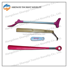 wholesale custom long plastic shoe horn for sale manufacturer