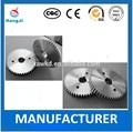 de diferente tamaño personalizar los engranajes del fabricante en china